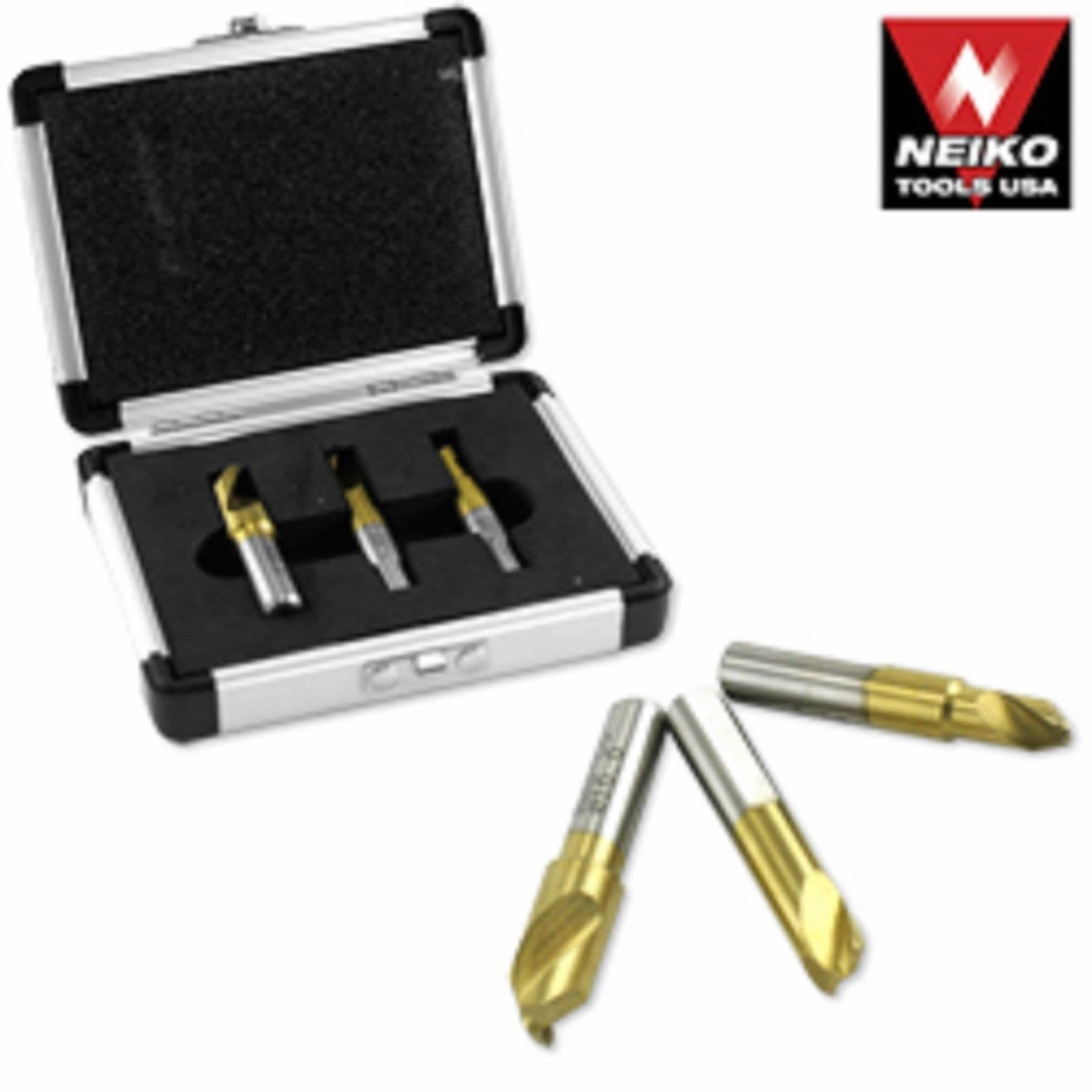 3 Pc Hs Cobalt Welding Spot Welder Drill Bit Set Kit Weld Cutter Cutting