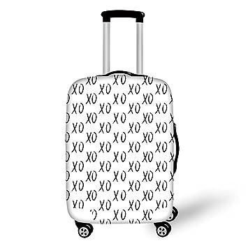 Amazon Travel Luggage Cover Suitcase Protector Xo Decor Hugs