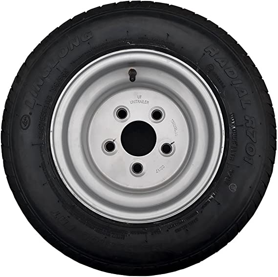 LMX1071 Trailer spare wheel cover suitable for an 8 inch trailer wheel rim and tyre Pt no