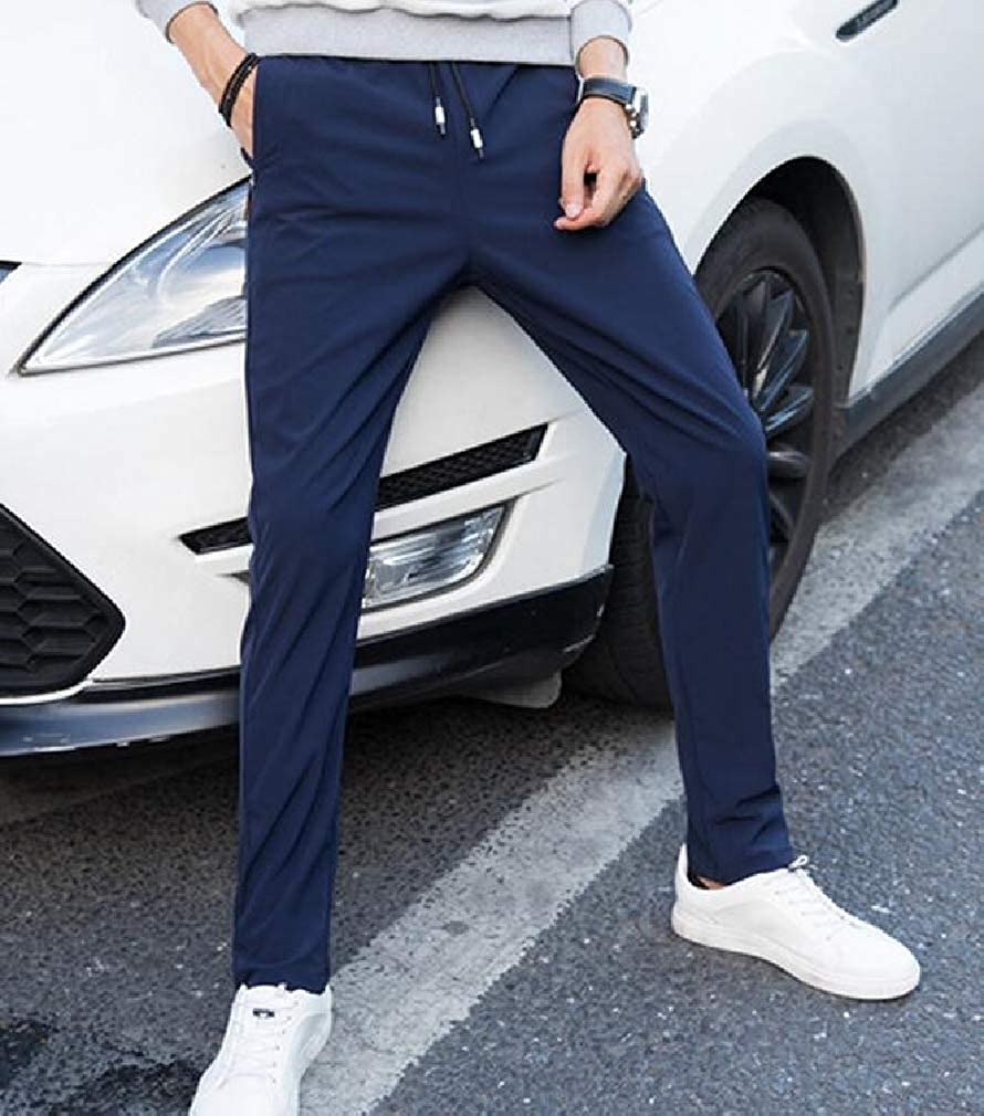 Lutratocro Mens Casual Sweatpant Elastic Waist Sport Outdoor Long Pants