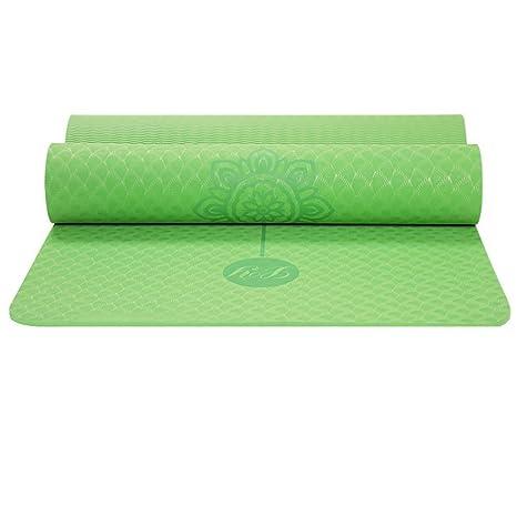3654bbe48bc88 Amazon.com : Wangs Professional TPE Yoga mat Tasteless Thickening ...