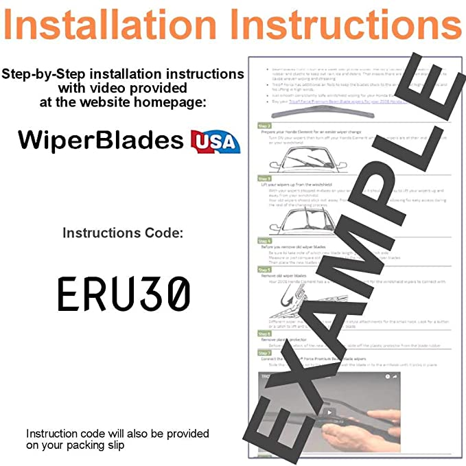 Amazon.com: Wiper Blades for 2016 Toyota Highlander Driver & Passenger Trico Steel Wipers Set of 2 Bundled with Bonus MicroFiber Interior Car Cloth: ...
