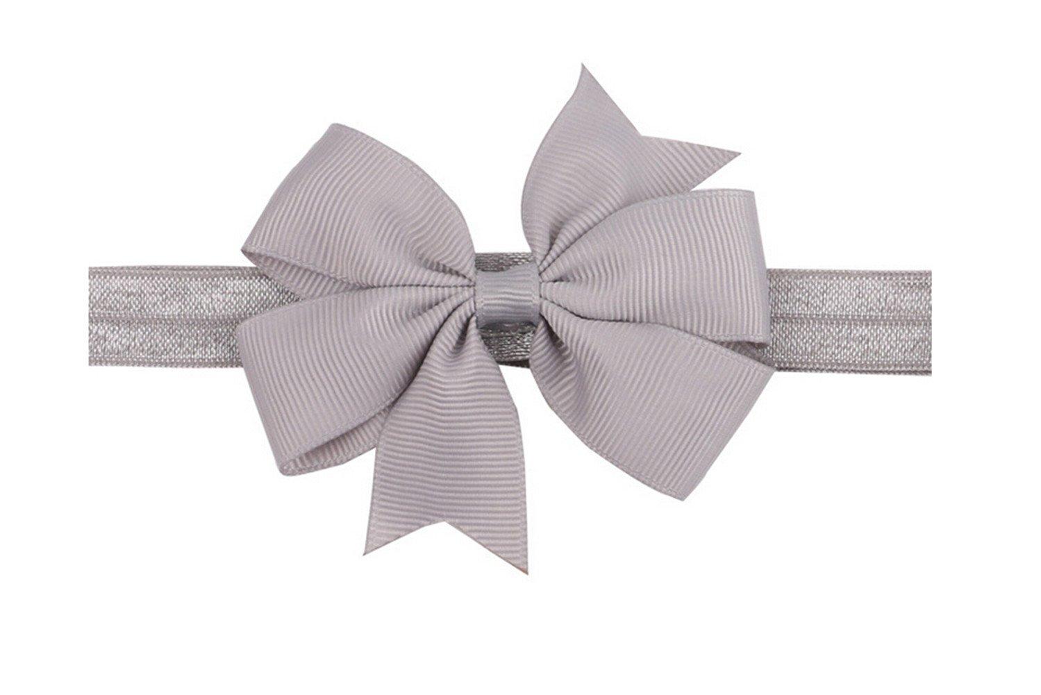 Baby-elastisches Stirnband Haarband bowknot Fotografie CuteOn 20 Satz-nettes Kleinkind