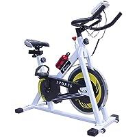 CENTURFIT Bicicleta Spinning Fija 10kg Ejercicio Gym Profesional Uso en Casa