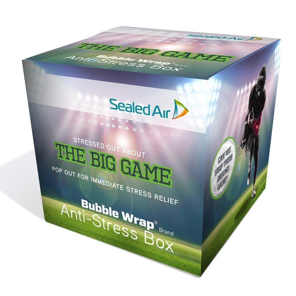 Bubble Wrap 100867318 The Big Game Anti-Stress Box