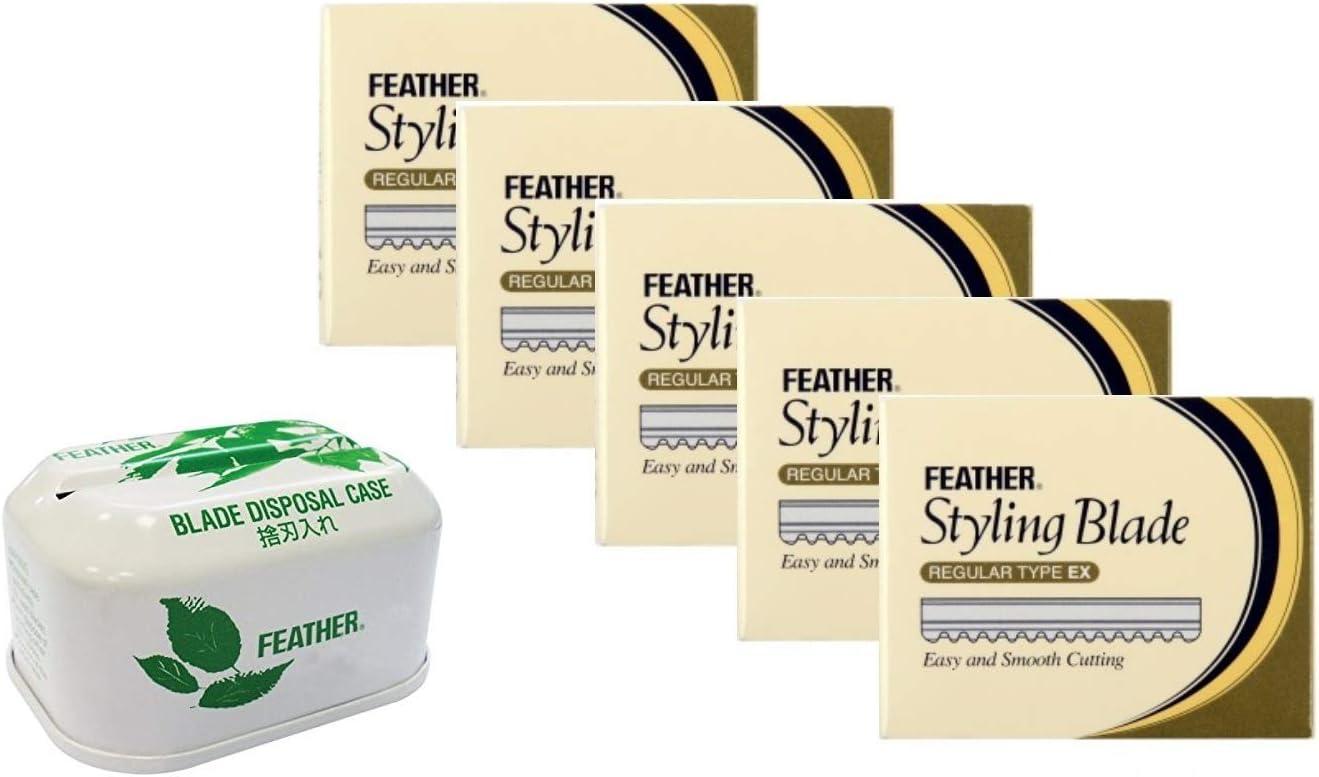 Feather Cuchillas de Afeitar - 50 gr