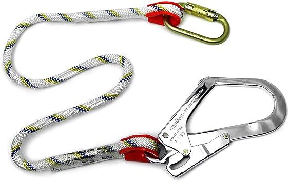 Clow EPI arnés de seguridad accesorios 1 m cuerda con mosquetón ...