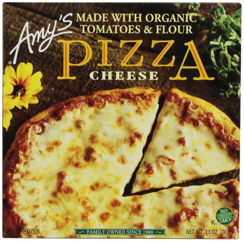 Amy's Frozen Cheese Pizza, Hand-Stretched Crust, Full - Skim Mozzarella Part