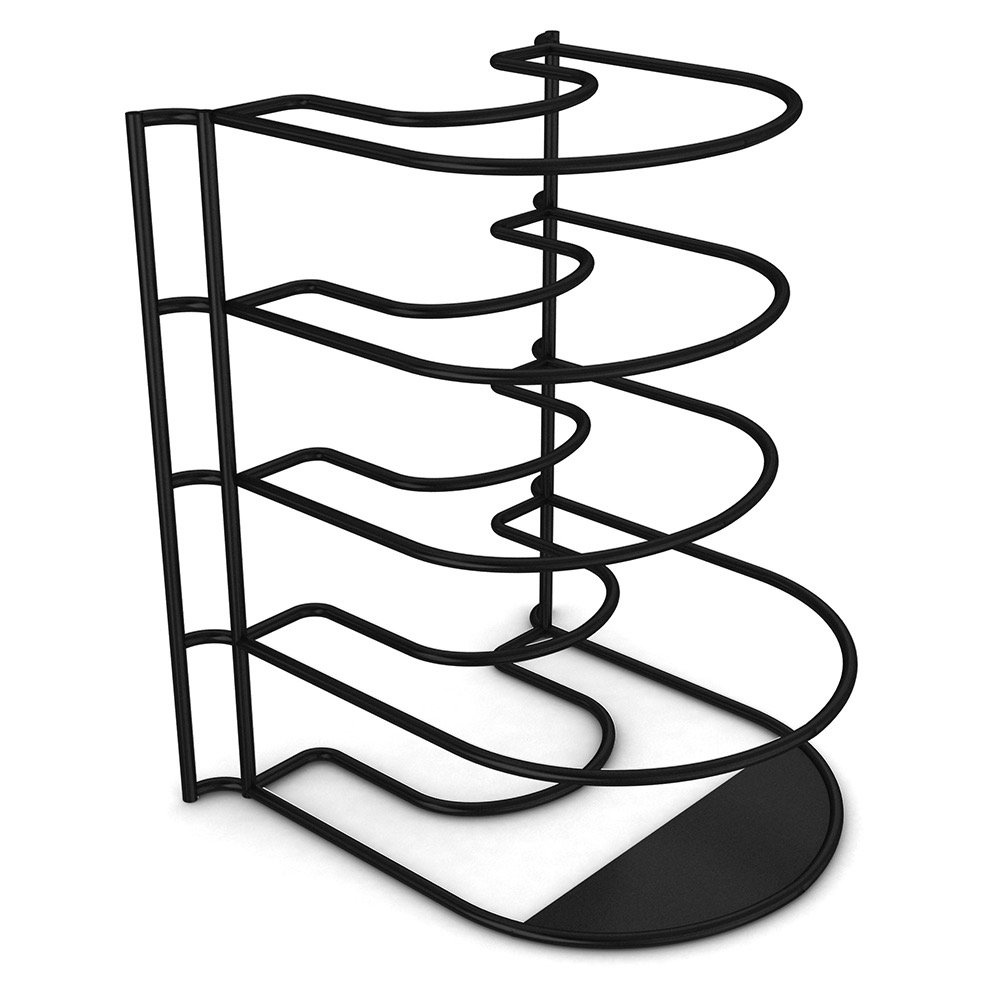 best rated in pot racks helpful customer reviews amazon Finishing Attic Space Garage extreme matters heavy duty pan anizer bottom tier 1 inch taller for larger pans