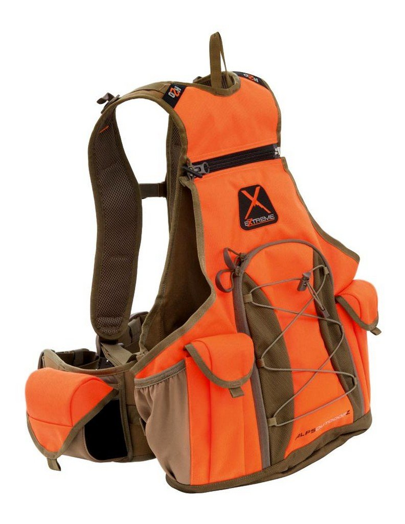 ALPS OutdoorZ Upland Game X Vest, Blaze, X-Large by ALPS OutdoorZ (Image #1)