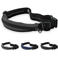 TIGHTEND Waist Pocket Belt X2 [Black] for Jogging Marathon Cycling Trecking