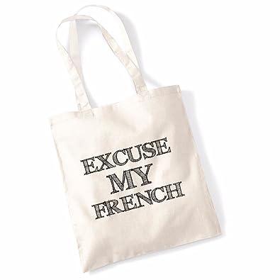 268b7ca6d693 Printed Tote Bag Slogan Women's Gift Idea 100% Cotton