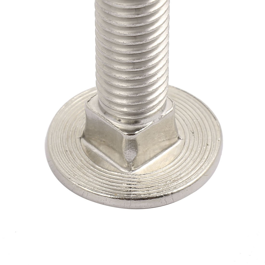 uxcell M12 x 65mm 304 Stainless Steel Round Head Carriage Coach Bolts DIN603 2PCS US-SA-AJD-289855