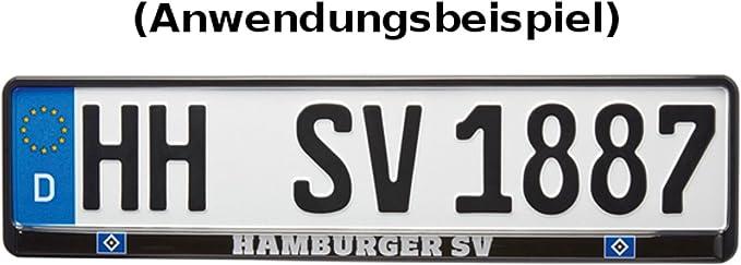 Hsv Hamburger Sv Kennzeichenhalter Logo Exklusiv Auto