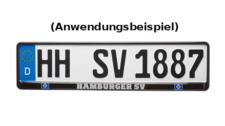 HSV Hamburger SV Kennzeichenhalter Logo Exklusiv HSV Fussball AG 4508479