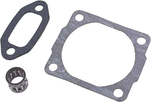 Cylinder /& Exhaust Gasket Fits Early Stihl 044 Chainsaw Crankcase