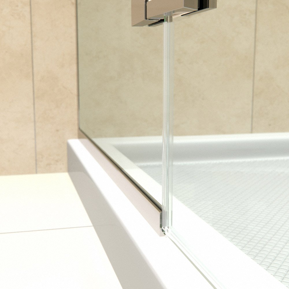 Dreamline Unidoor Plus 41 12 42 In Width Frameless Hinged Shower