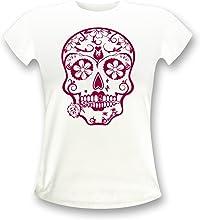 t-shirt tête de mort mexicaine 1