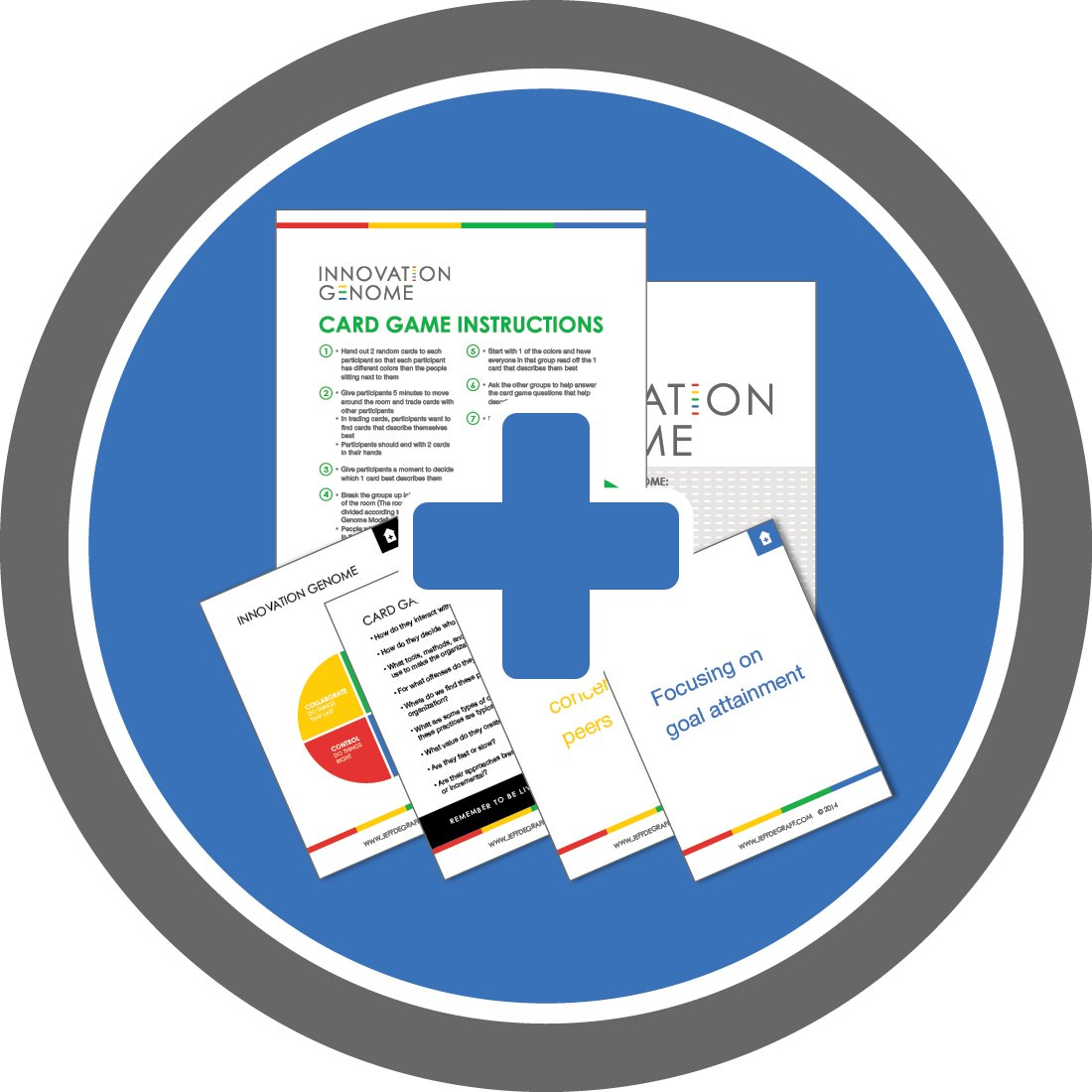 Read Online Innovation Genome Card Game for Healthcare Kit pdf