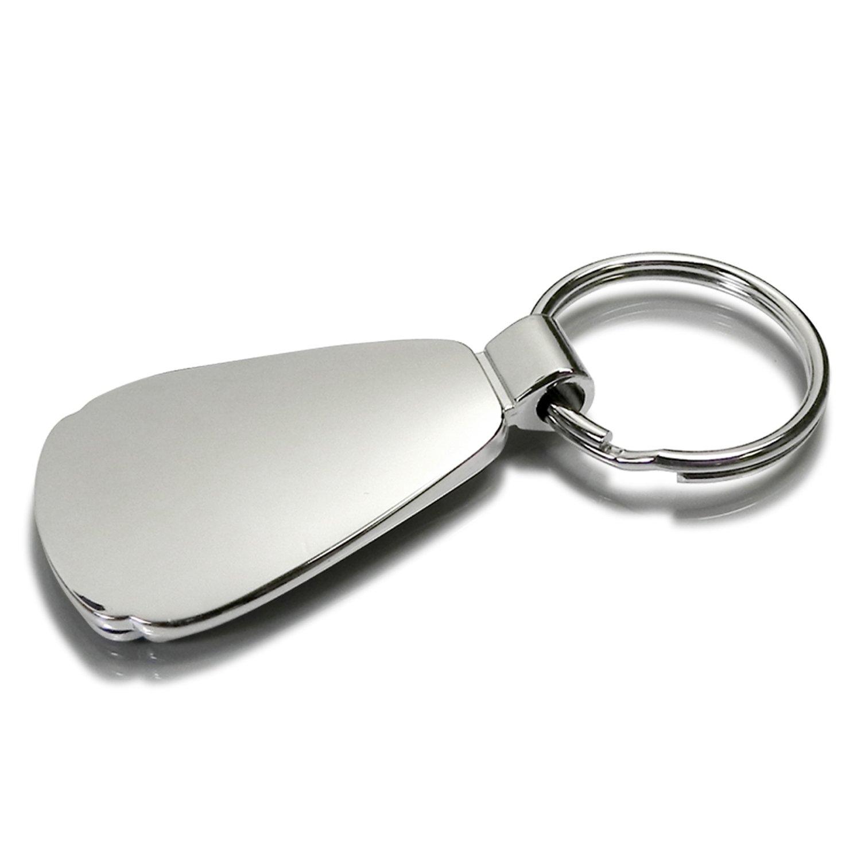 Acura MDX Pink Tear Drop Metal Key Ring