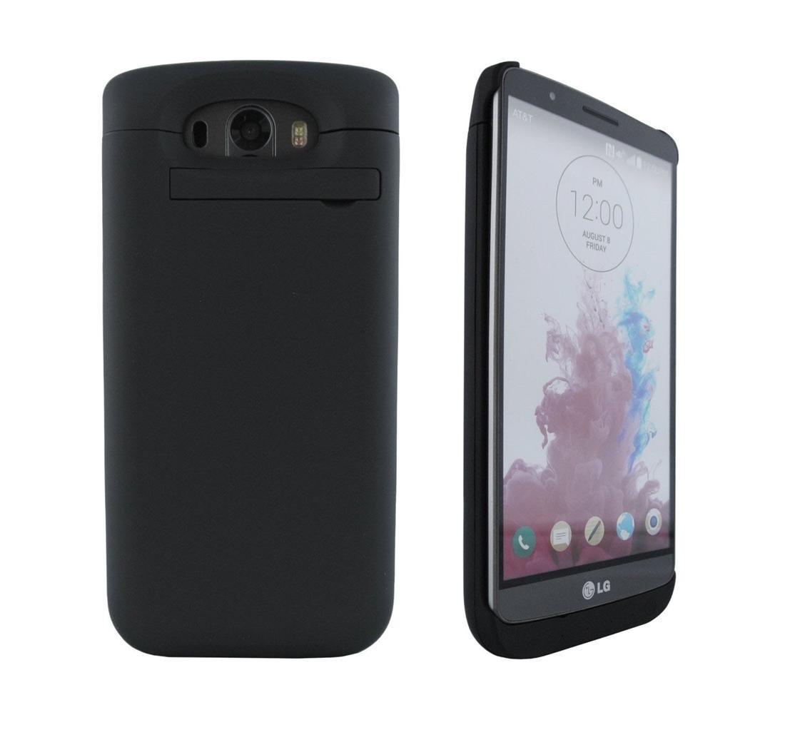 LG G3 Cargador, Kool (TM) Negro Cargador de batería externo ...