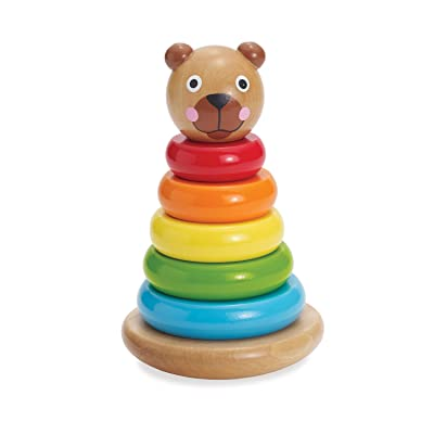 Manhattan Toy Brilliant Bear Magnetic Stack-up: Toys & Games