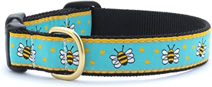 Up Country Dog Puppy Design Leash Made In USA Choose Size Bee