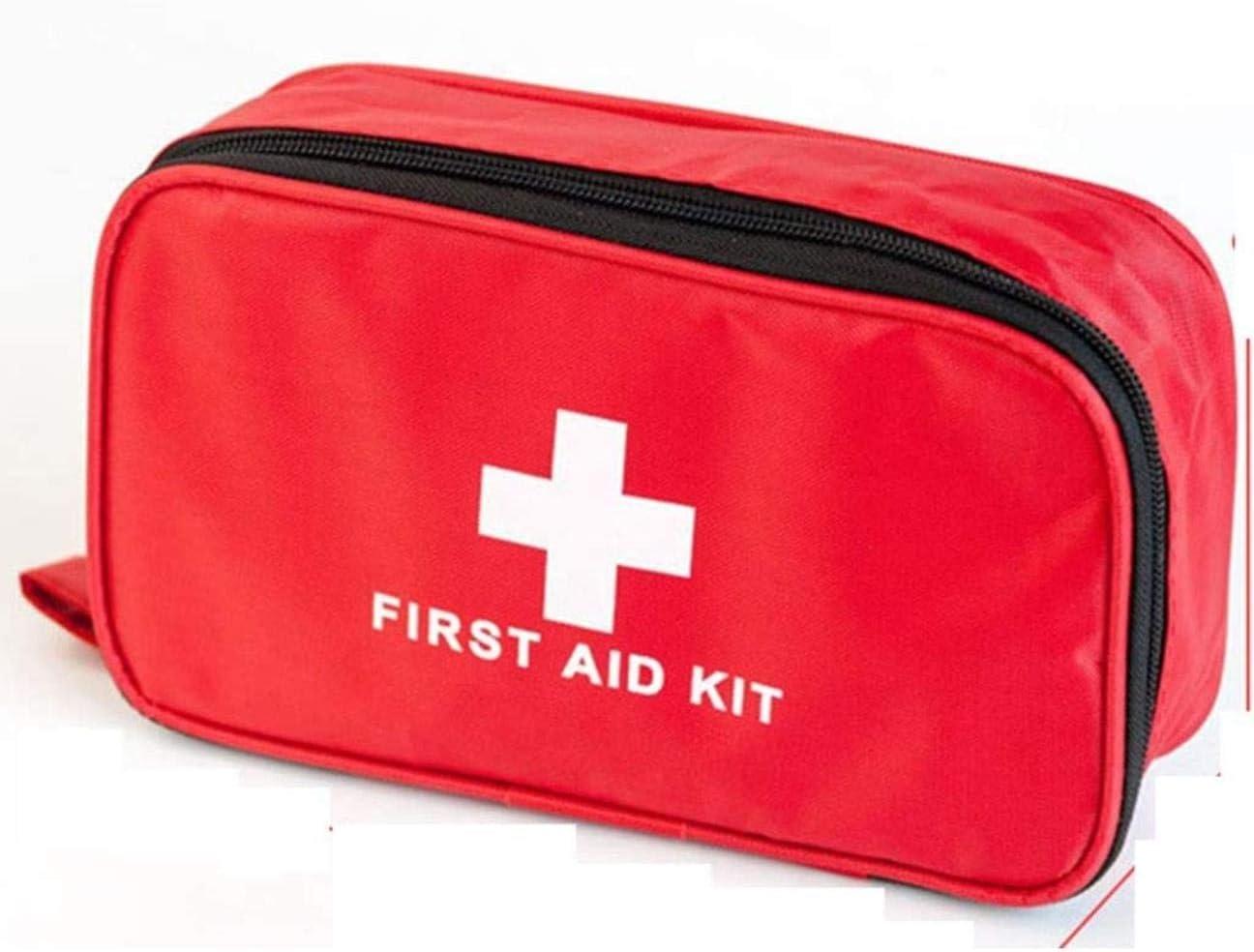 LBWNB Kit de Primeros Auxilios del Recorrido al Aire portátil Coche Kit médico pequeña Caja de Fuego portátil de Medicina de Emergencia Terremoto Bolsa de Almacenamiento de Hogares