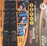 ROK Straps 12'-42' Adjustable Pack Strap -2Pk MotoPLaid Black-Blue-Green