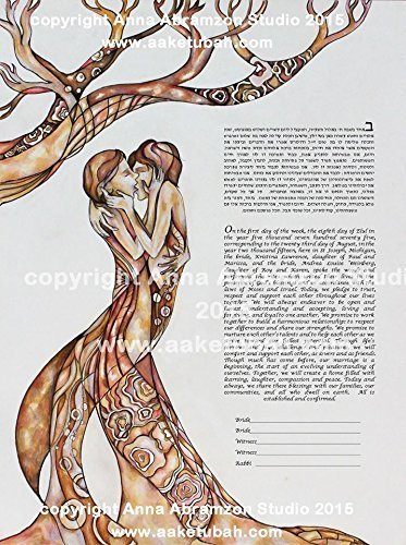 Love Wins Same Sex Ketubah Lesbian LGBT Marriage Contract