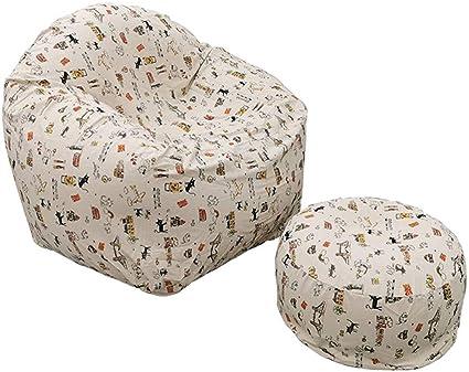 Berocia Sofa Hinchable Aire Tumbona Plegable sillones Relax Jardin Air Sofa Inflable per Adulti Adolescente balcón Sala habitación Yarda Camping con reposapiés