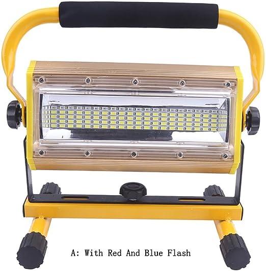 Mettime 100W Portátil Foco Lámpara LED Proyector,Recargable ...