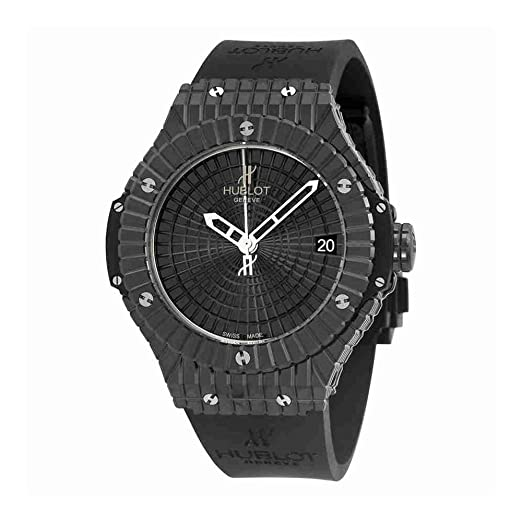Hublot Big Bang Caviar Negro Dial Automático Mens Reloj 346. CX. 1800. RX: Hublot: Amazon.es: Relojes