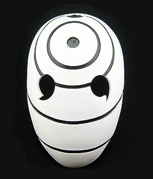 Gmasking resina Tobi Obito Naruto Uchiha Cosplay casco máscara + gmask llavero