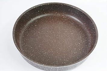 YIBWUAIL Marble Stone Cake Grill Sartenes 28/32/36/40 CM Espesar ...