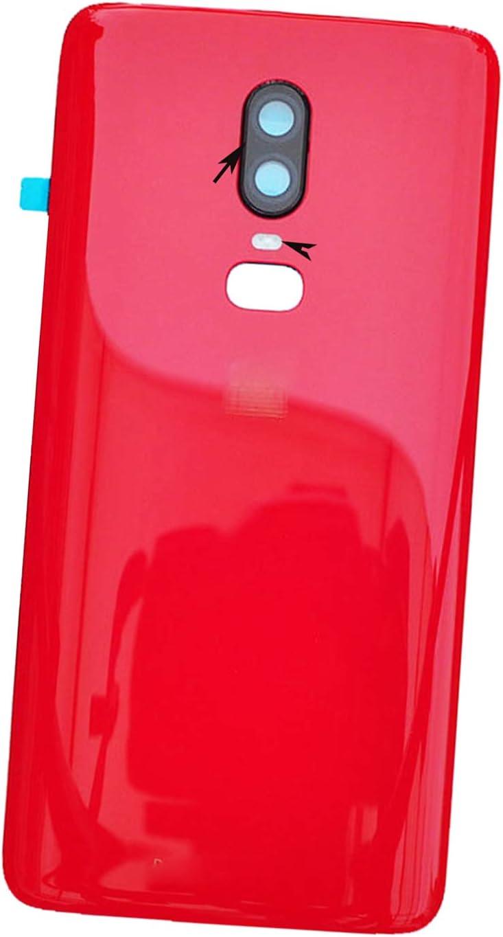 Repuesto Parte Trasera Oneplus 6 6.28 A6000 A6003 rojo