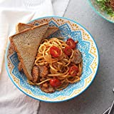 "ZONESUM 9"" Pasta Bowls - 40 oz Large Serving"