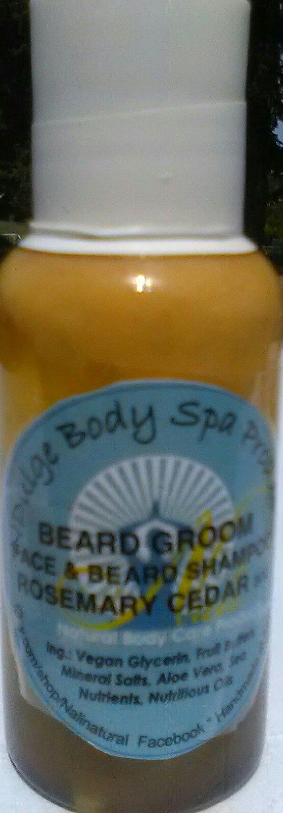 BEARD GROOM - Beard Shampoo with Superfruit Mangosteen