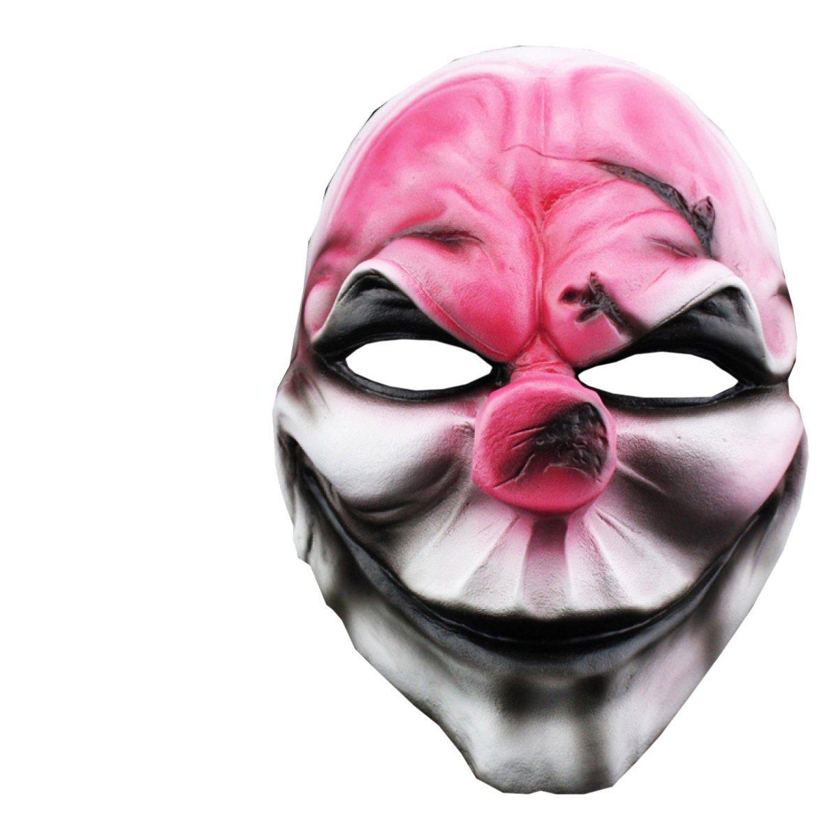 Nihiug Juego De Máscaras De Horror De Halloween Día De Cosecha 2 Edición De Coleccionista Cara De Resina Cos Role Play Party Performance 'Boo To You' ',A