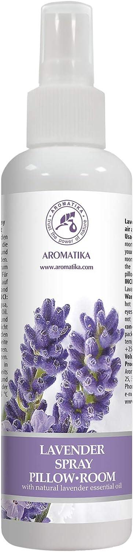 Spray de Almohada 250 ml - Spray de Aromaterapia de Lavanda - 100% Pura Aceite Esencial de Lavanda - Ideal para Yoga - Relajación - Sueño y Spray para Habitación - Natural Lavanda Pillow Mist