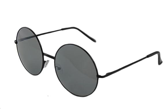 d2ed8badb1156 Unisex Oversize Round Sunglasses Vintage Style John Lennon Sunglasses UV400  Sunglasses