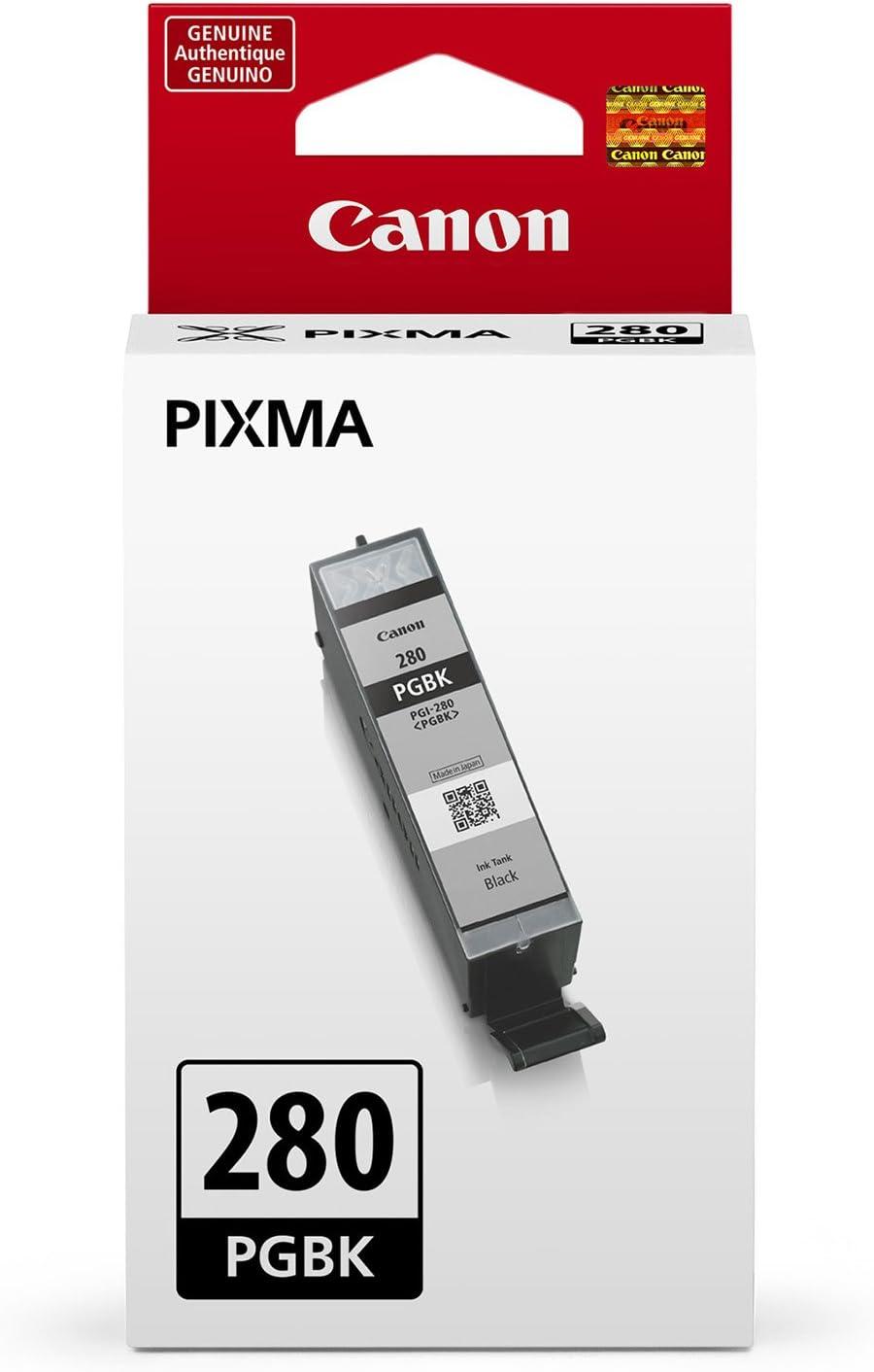 Canon PGI-280 Pigment Black Ink, Compatible to TS9120, TS8120, TS6120, TR8520 and TR7520 Wireless Printer
