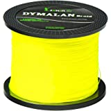 JIMEI Braided Fishing line 4 Strands 1000M 1094 Yards 6lb-80lb PE Super Line - Abrasion Resistance Fishing Line - Zero Stretch - Thinner Diameter for Saltwater & Fresh Water By DYMALAN …