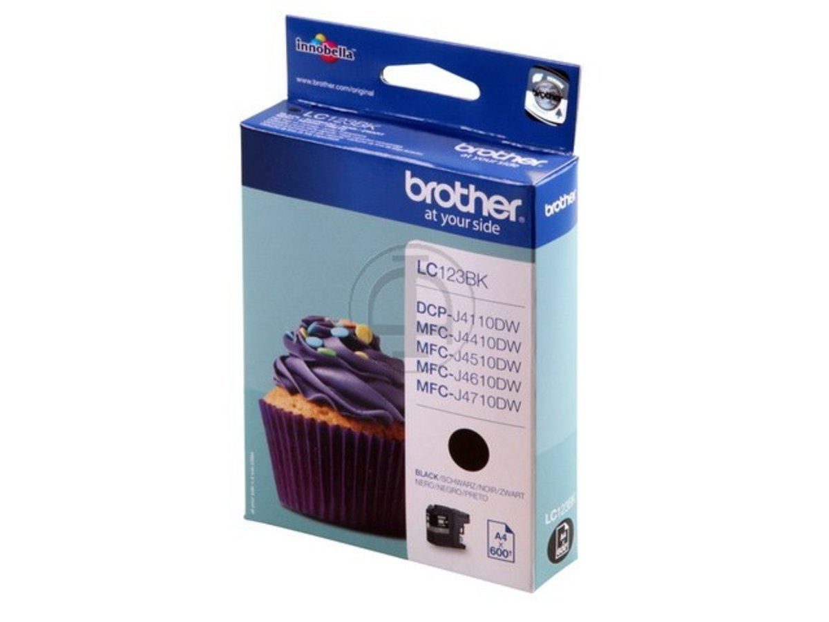 Brother MFC-J 475 DW (LC-123 BK) - - BK) original - cartucho de tinta negra - 600 páginas 0beea5