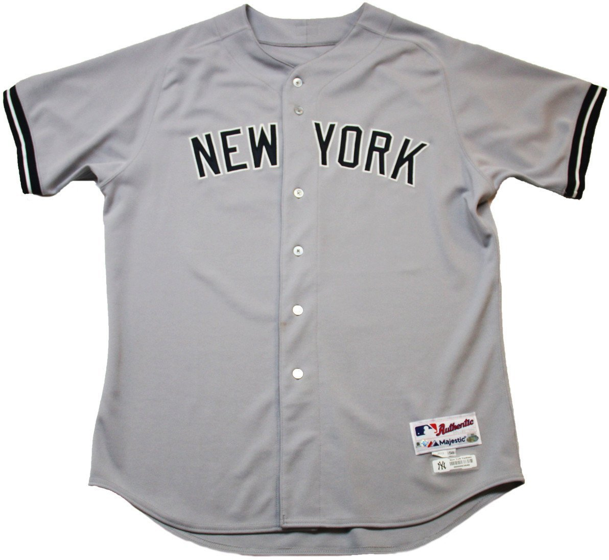 promo code 5922a 8d1f3 Chris Stewart Jersey - NY Yankees Team Issued #19 Grey ...