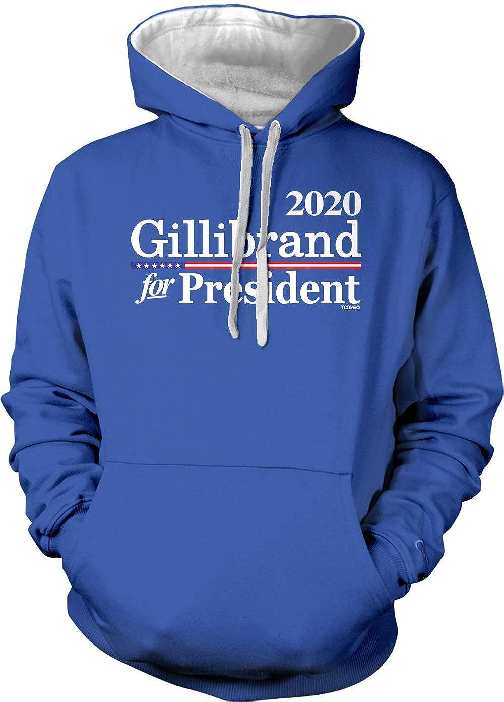 Tcombo Kirsten Gillibrand for President 2020 Unisex Hoodie Sweatshirt