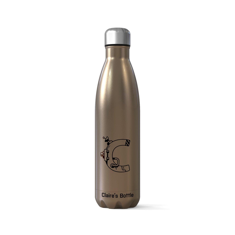 Personalized CoHo Bottle Flask Techno C