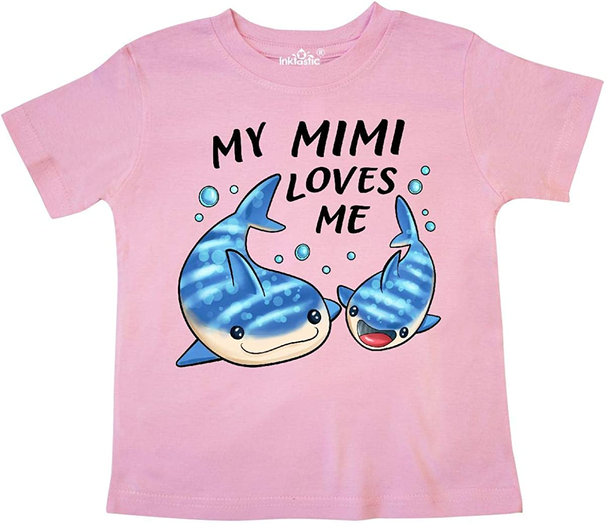 Whale Shark Baby T-Shirt inktastic My Mimi Loves Me