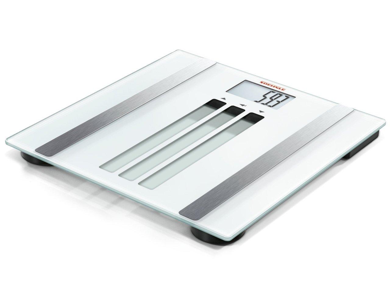 Soehnle 63356 9 63356-Báscula de baño Digital Body Control Easy Fit, Vidrio, De plástico, Negro: Amazon.es: Hogar