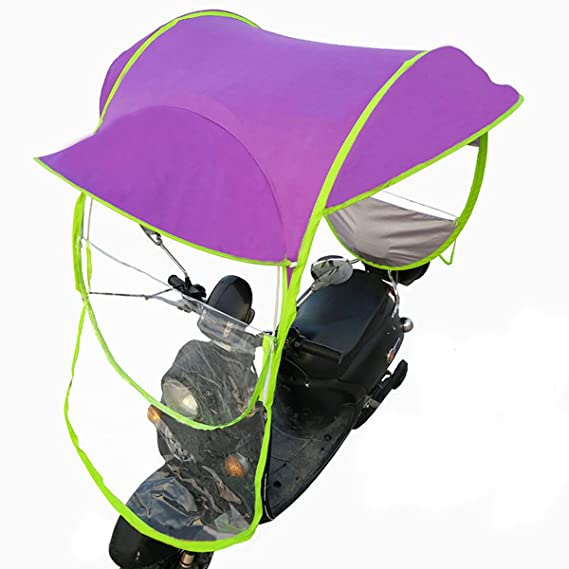 Amazon.com: Automotive Universal Motor Scooter Umbrella Mobility Sunshade & Rain Cover Waterproof - (NO.: 03#): Cell Phones & Accessories